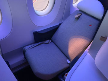 Air France Business Class A350 900 Sitz Fenster 6