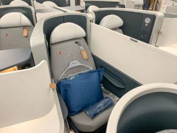 Air France Business Class A350 900 Sitz Mitte 1