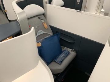 Air France Business Class A350 900 Sitz Mitte 3
