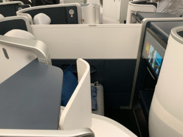 Air France Business Class A350 900 Sitz Mitte 4