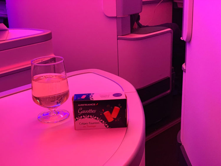 Air France Business Class Snack