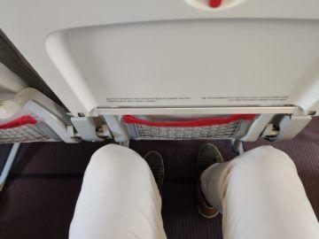 Austrian Airlines A319 Business Class Sitzabstand