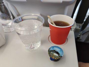 Austrian Airlines A320 Corona Getraenke
