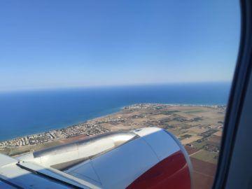 Austrian Airlines A320 Nach Start Larnaka