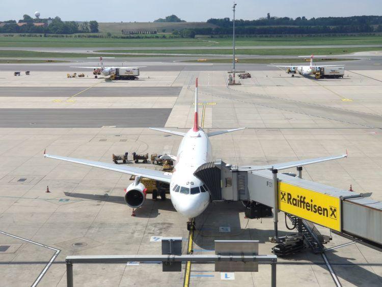 Austrian Airlines Airbus A319 Flughafen Wien