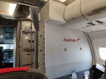 Austrian Airlines Business Class Kabine