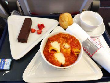 Austrian Airlines Business Class Larnaka Essen
