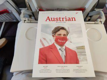 Austrian Airlines Corona Onboard Magazin
