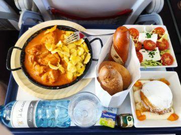 Austrian Airlines Doco Ala Carte Paprikahuhn Gesamt