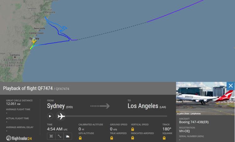 Fllightradar24 Qantas Qf7474 Kaenguruh