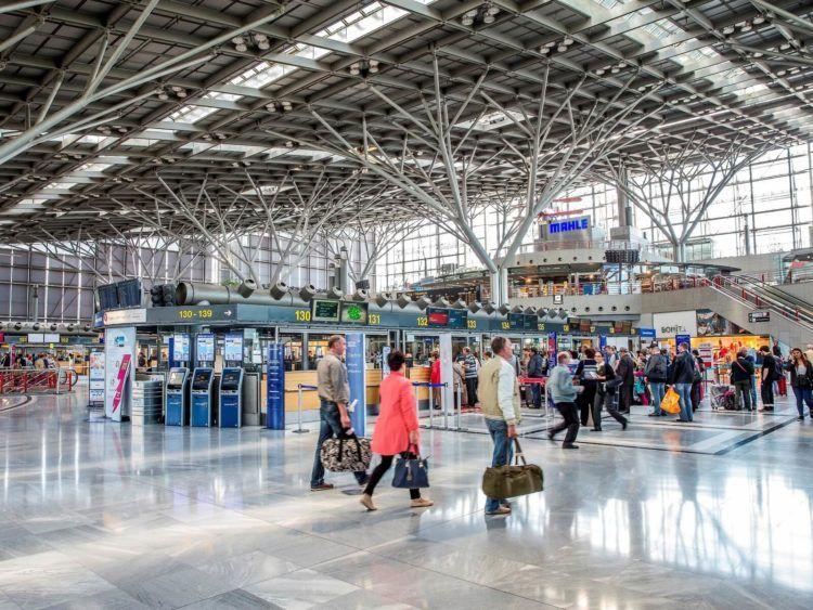 Flughafen Stuttgart Terminal1 Copyright
