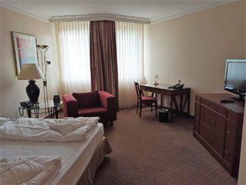 Hilton Mainz City Blick Blick Ins Deluxe Zimmer