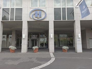 Hilton Mainz City Fassade