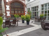 Hilton Mainz City Innenhof