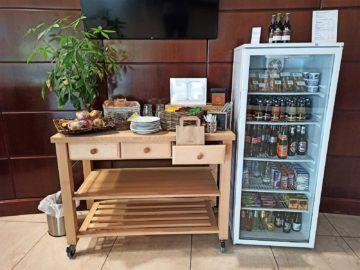 Hilton Mainz City Kuehlschrank Getraenke Snacks