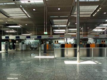 Lufthansa Express Rail Check In Frankfurt
