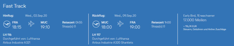 Miles And More Early Bird Lufthansa Frankfurt Muenchen