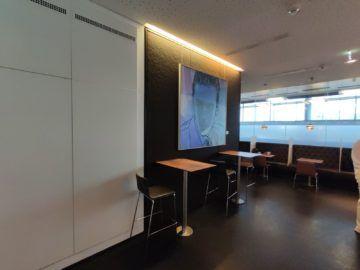 Sky Lounge Wien Schengen Buffet Bild