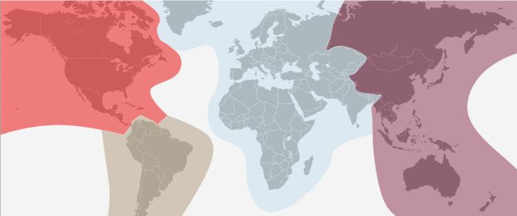 Air Canada Aeroplan Travel Zones