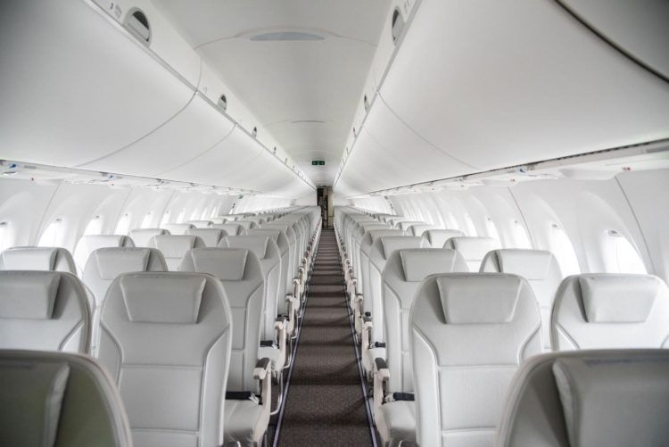 Airbaltic A220 Cabin Copyright