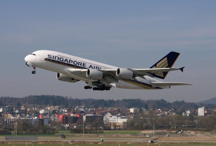 Airbus A380 Singapore Airlines Pixabay