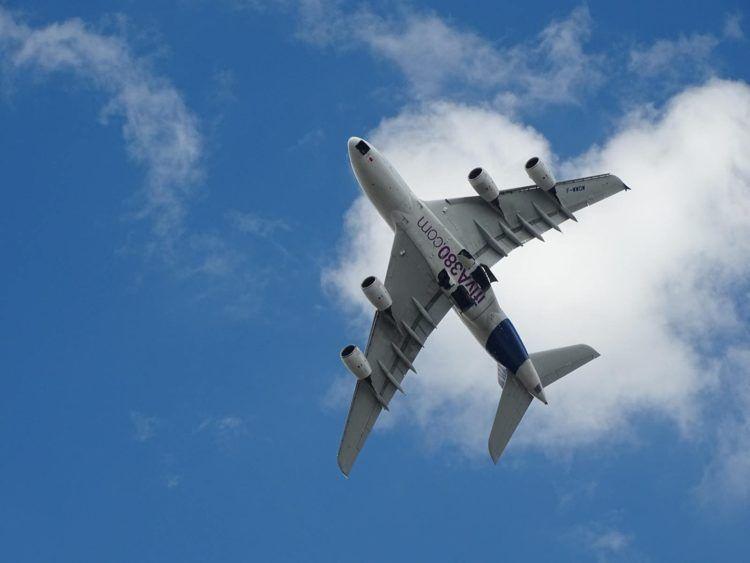 Airbus A380 Von Unten Unsplash