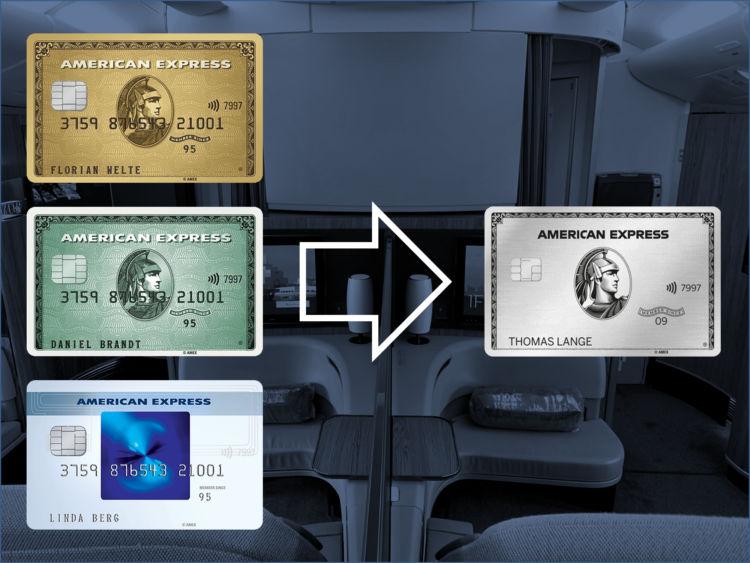 American Express Kreditkarte Wechseln Downgraden Upgraden