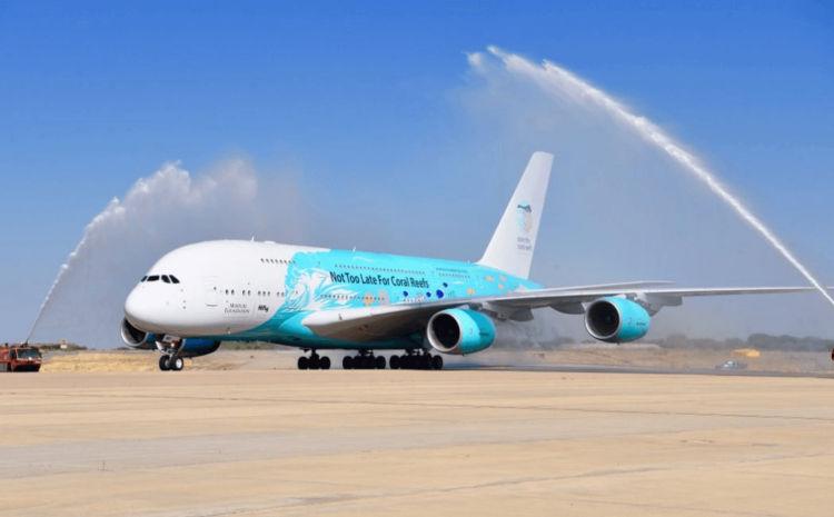 Hi Fly Malta Airbus A380 Copyright
