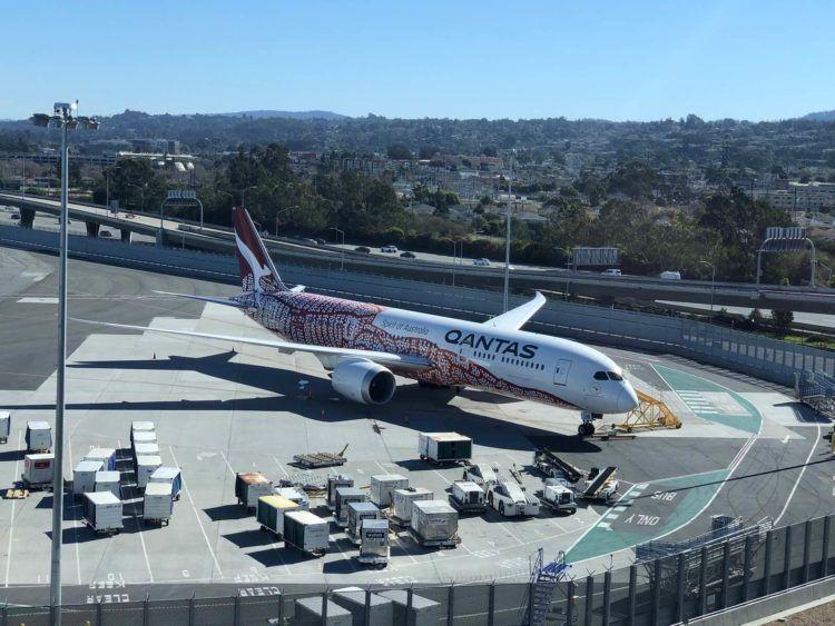 Qantas San Francisco