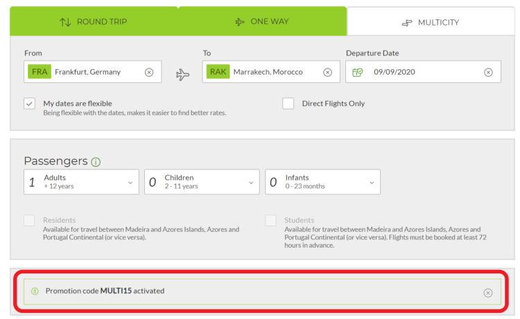 Tap Portugal Gutscheincode Eingetragen