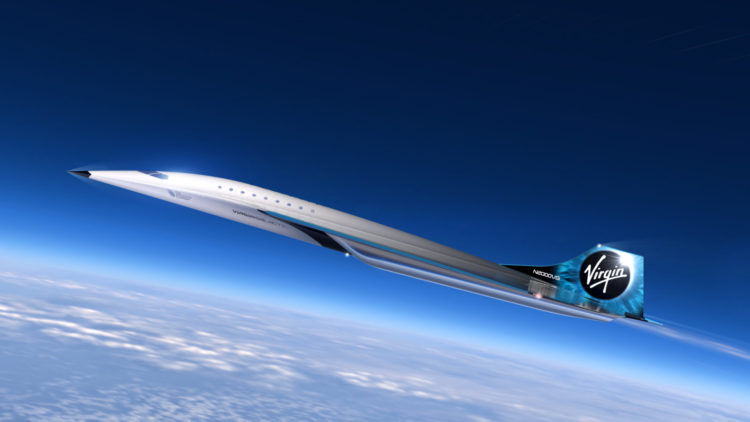 Virgin Galactic Mach 3 Jet Copyright