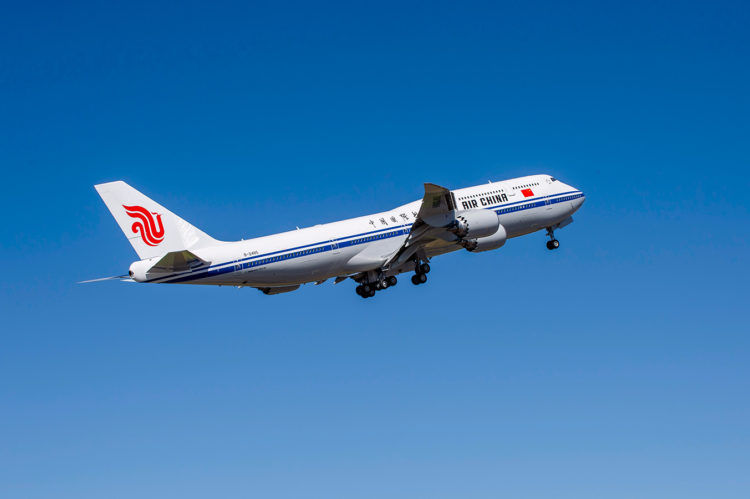 Air China Boeing 747 8 Copyright