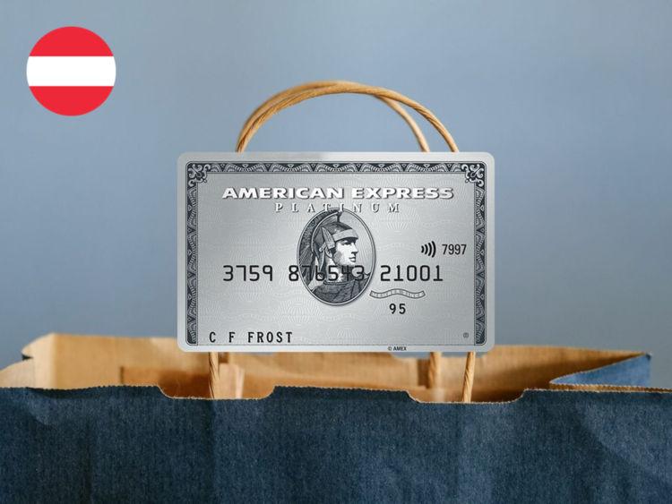 American Express Platinum Oesterreich Shopping Guthaben