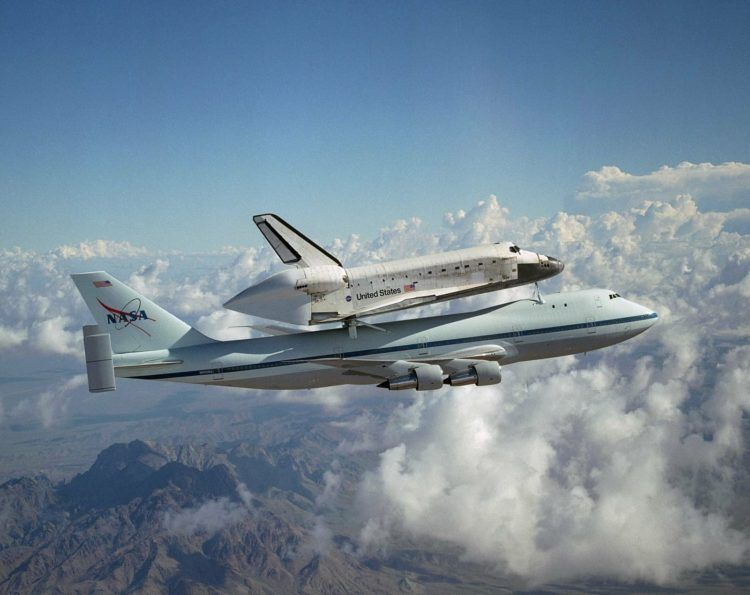 Boeing 747 100 Nasa Space Shuttle Pixabay