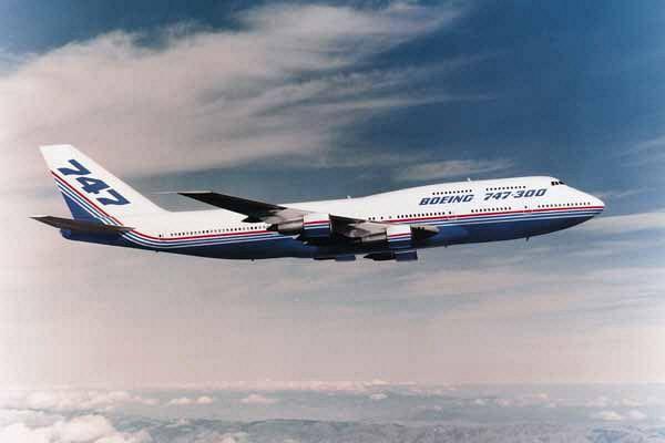 Boeing 747 300 Werkslackierung Copyright