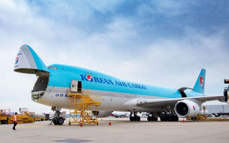 Boeing 747 8f Frachter Korean Air Copyright