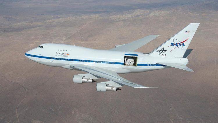 Boeing 747 Sp Nasa Sofia Pixabay