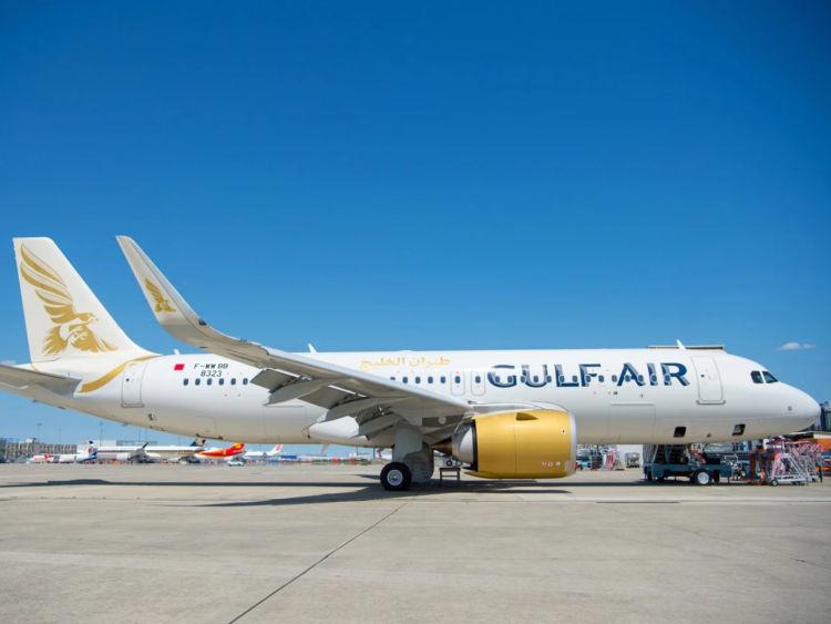 Gulf Air Flugzeug A320 Copyright