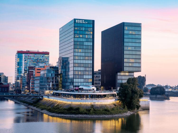Hyatt Regency Duesseldorf Exterior Copyright