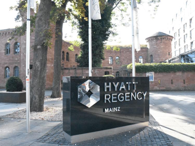 Hyatt Regency Mainz Exterior View