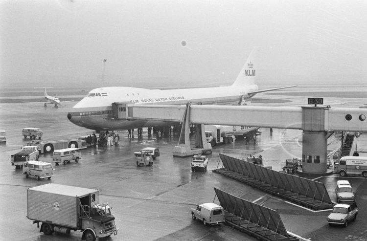 Klm Erste Boeing 747 200 Amsterdam Copyright