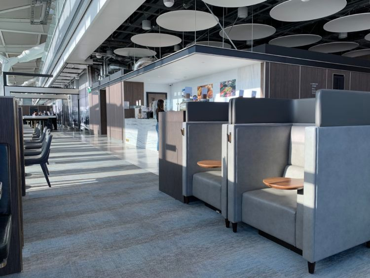 Plaza Premium Lounge London Heathrow Terminal 5 Sessel