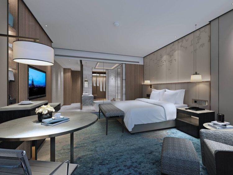 Shanghai Marriott Hotel Pudong South Zimmer