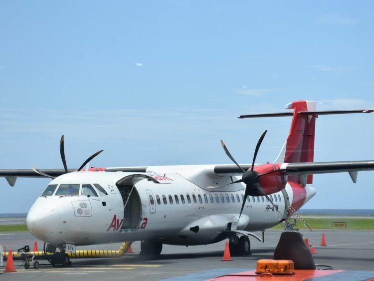 Avianca Flugzeug Atr72