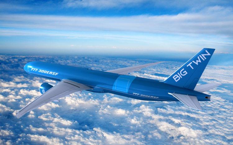 Boeing 777 300 Ersf Cargo Copyright