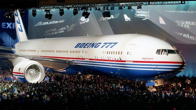 Boeing 777 Vorstellung 1994 Copyright