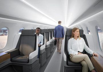 Boom Technology Business Class Cabin Copyright
