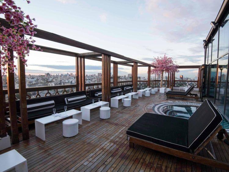 Buenos Aires Marriott Rooftop Bar Copyright