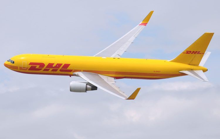 Dhl Express Boeing 767 300f Copyright