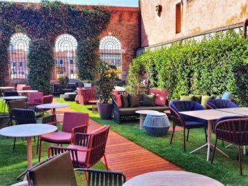 Hyatt Centric Murano Venice Outdoor Lounge Copyright